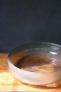 A large glass plate