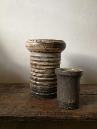 A set of ceramic vases
