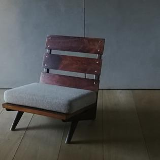 A wooden lounge chair by Georg Thams for Mobelfabrik Denmark
