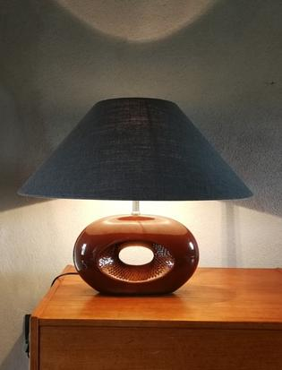 An original ceramic vintage table lamp