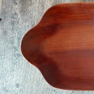 Beautiful teak danish bowl