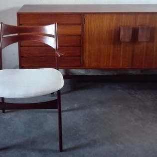 Large teak side cabinet by Fristho, sixties
