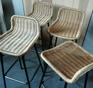 Set of 4 barseats by Dirk Van Sliedrecht