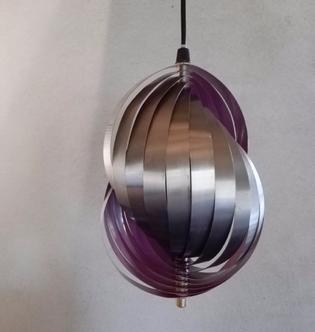Small hanging lamp by Louis Weisdorf