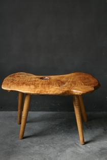 Wooden side table, Poland